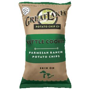 Great Lakes GMO-Free Potato Chips - Parmesan Ranch (8 oz)
