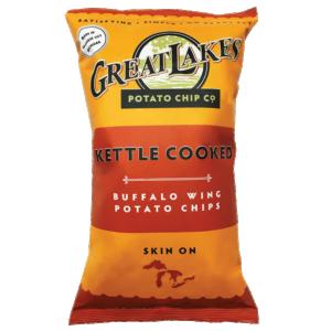 Great Lakes GMO-Free Potato Chips - Buffalo Wing (8 oz)