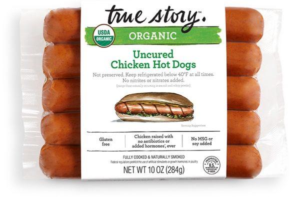 True Story - Organic Uncured Chicken Frank