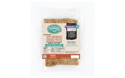 Spicy Breakfast Sausage Patties, Organic, No Sugar Added, Fully-Cooked