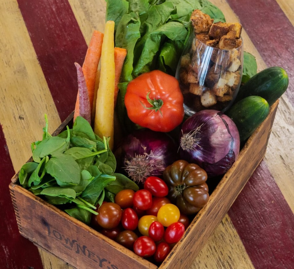 SF Organic Produce Boxes - Salad Essentials