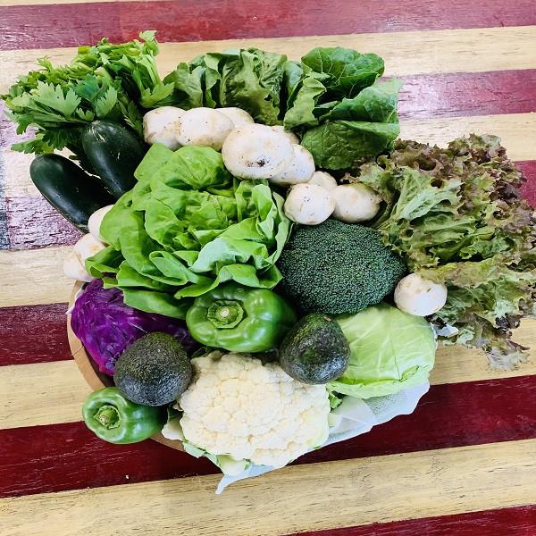 SF Organic Produce Box - Small Keto/Low Carb