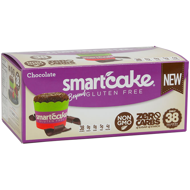 Smart Baking Company - Zero Carb Smart Cakes, Chocolate