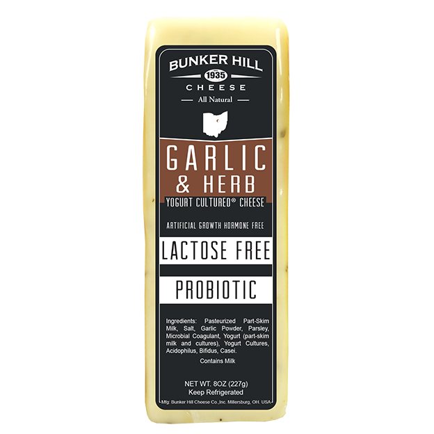 Bunker Hill - Garlic & Herb Lactose Free Cheese