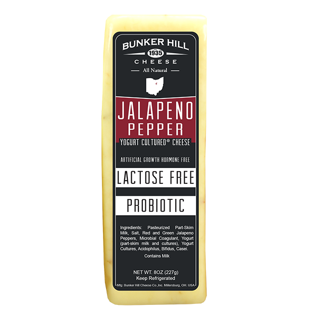 Bunker Hill - Jalapeno Pepper Lactose Free Cheese