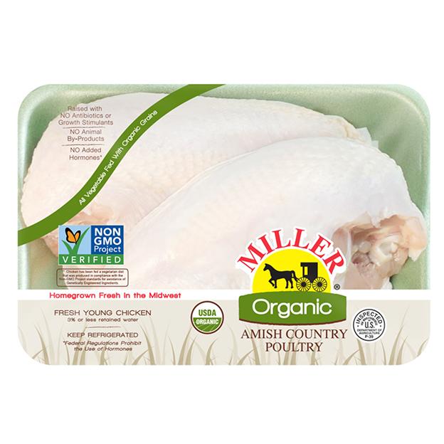 Miller Organic Chicken - Split Breast