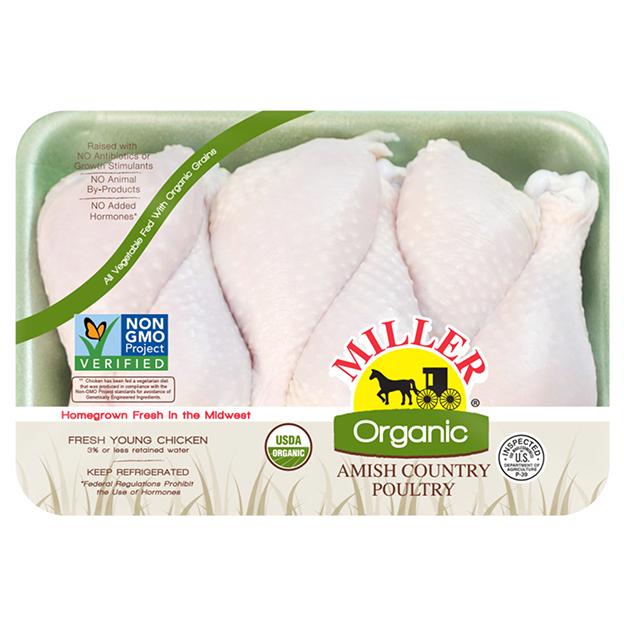Miller Organic Chicken - Drumsticks