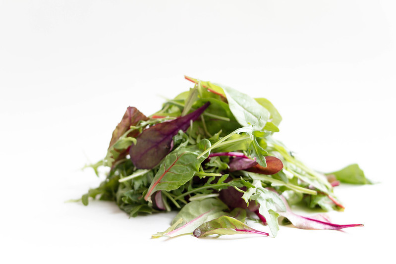 Organic Baby Spring Mix Lettuce
