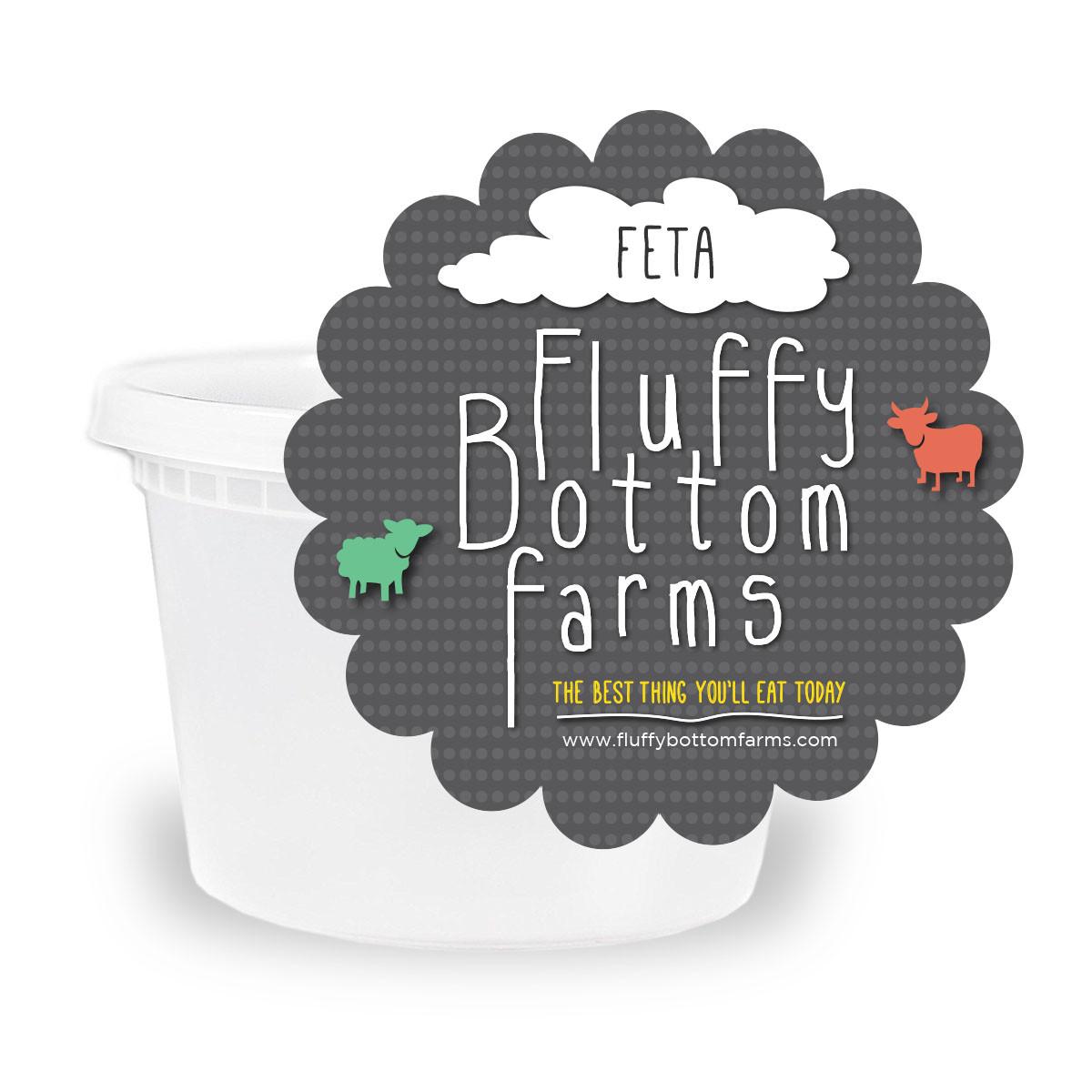 Fluffy Bottom Farms Artisan Cheese - Feta