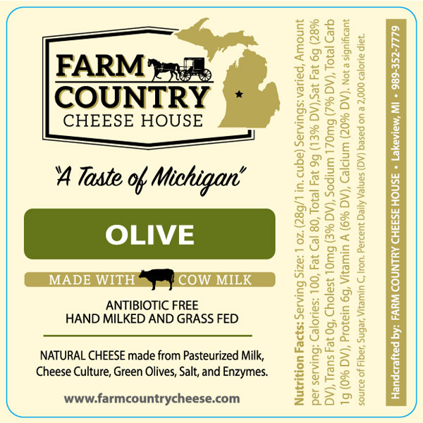Olive, Grass-Fed