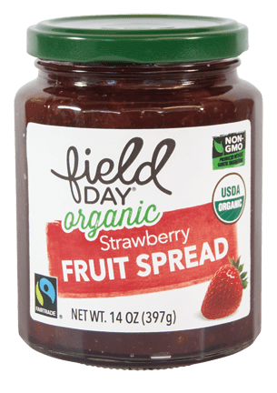 Field Day Organic Strawberry Fruit Spread