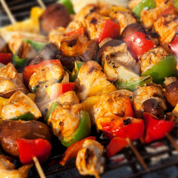 Marinated Chicken Kebab