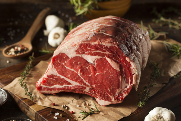 Half Prime Rib, Bone-In, 100% Grass Fed & Finished  (Limited Availability: November 20 - Christmas)