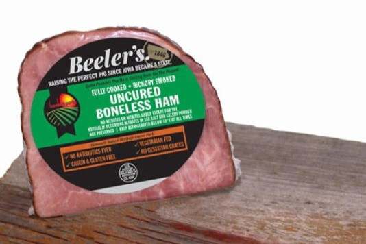 Quartered Boneless Ham (Uncured and Smoked)