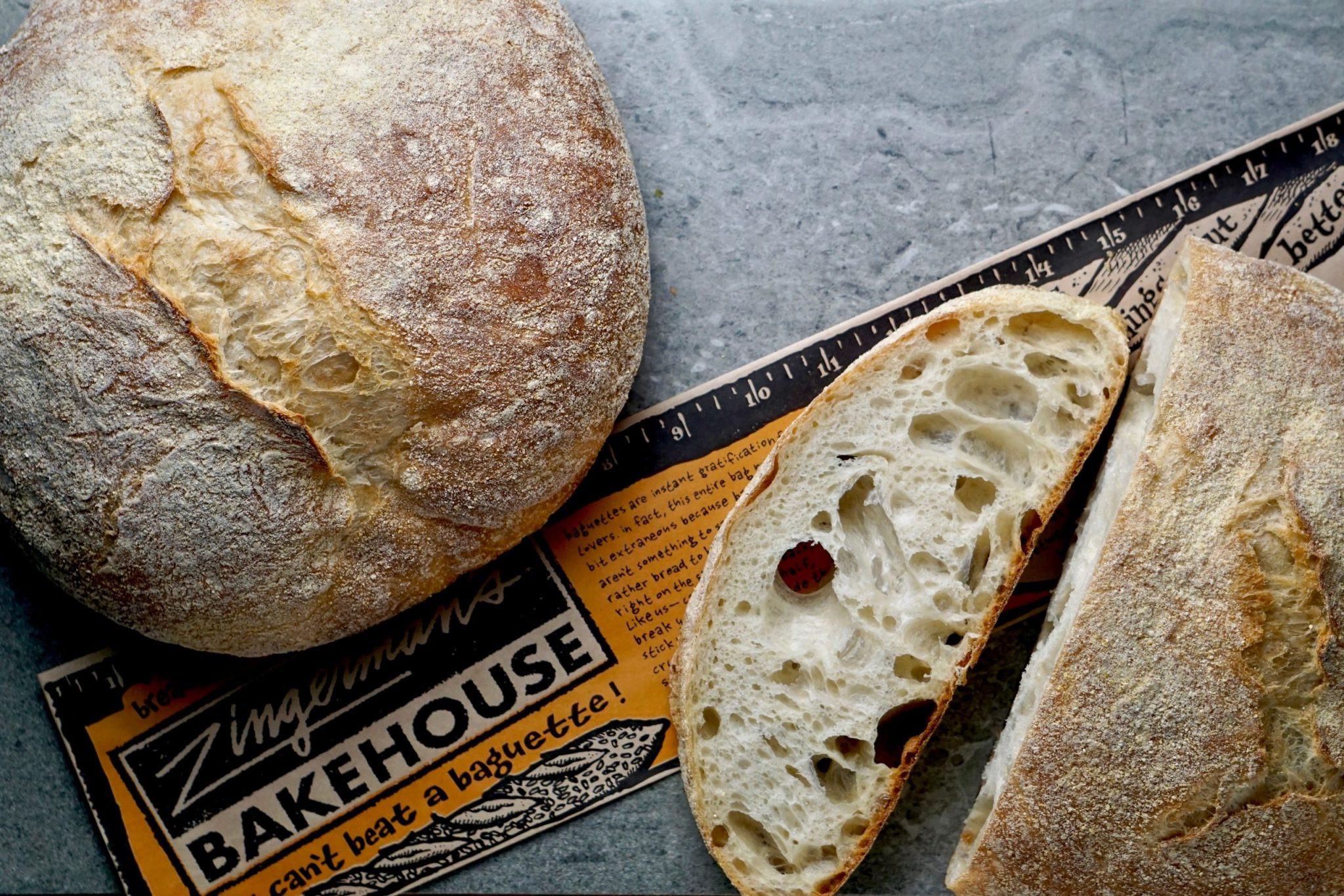 Paesano Bread, Sliced