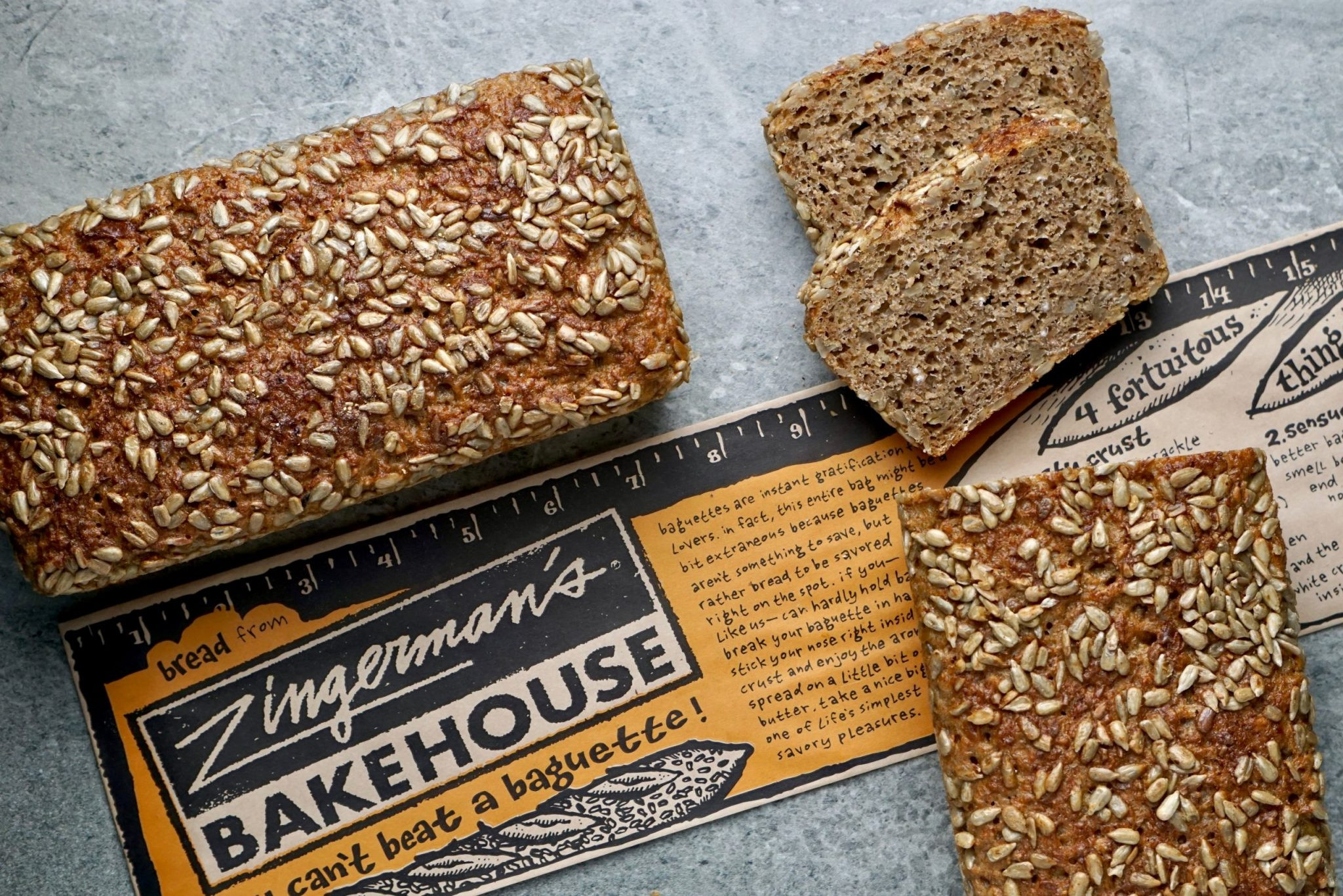 Dinkelbrot - German Spelt Bread