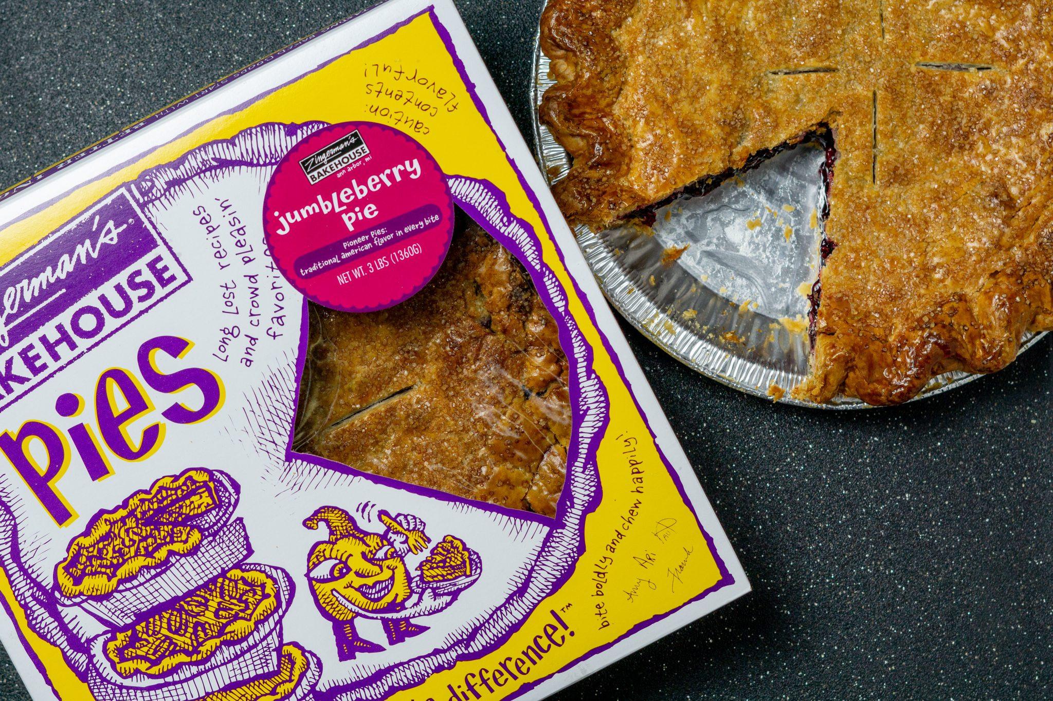 Jumbleberry Pie