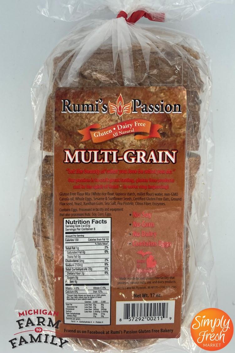 Gluten-Free Multi-Grain Bread