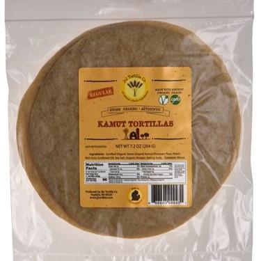 Organic Kamut Tortillas