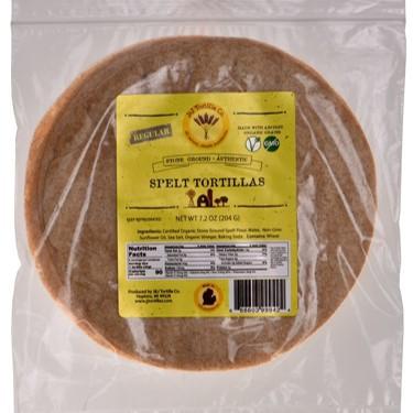 Organic Spelt Tortillas