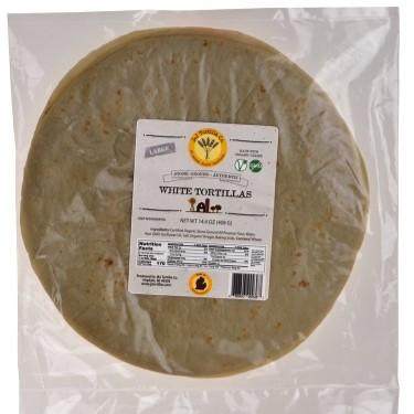 Organic White Tortillas (Large)