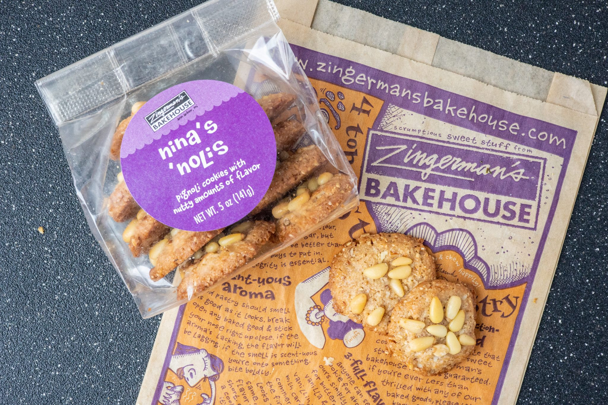 Nina's Noli's Cookies (Gluten Free)