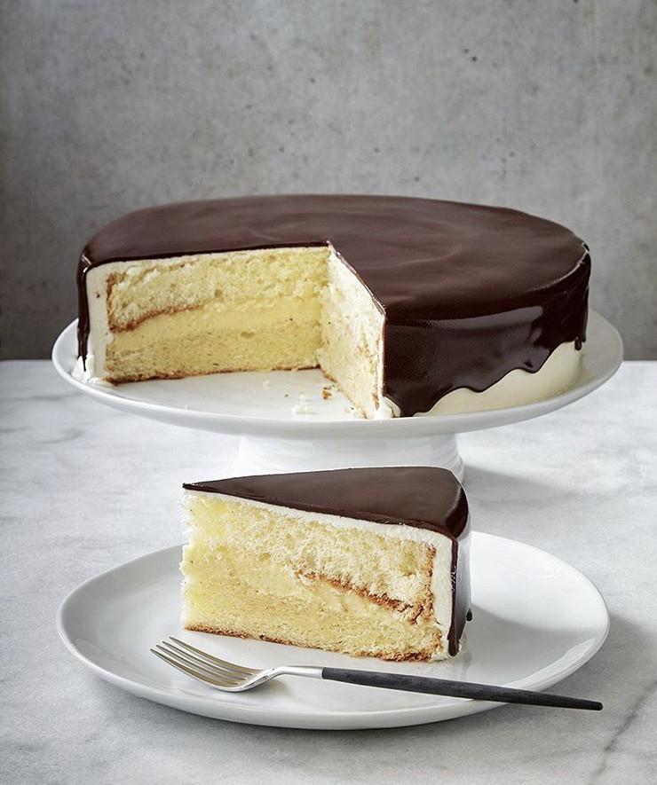 """Boston Cream Pie, 9"""""""