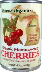 Organic Montmorency Cherries