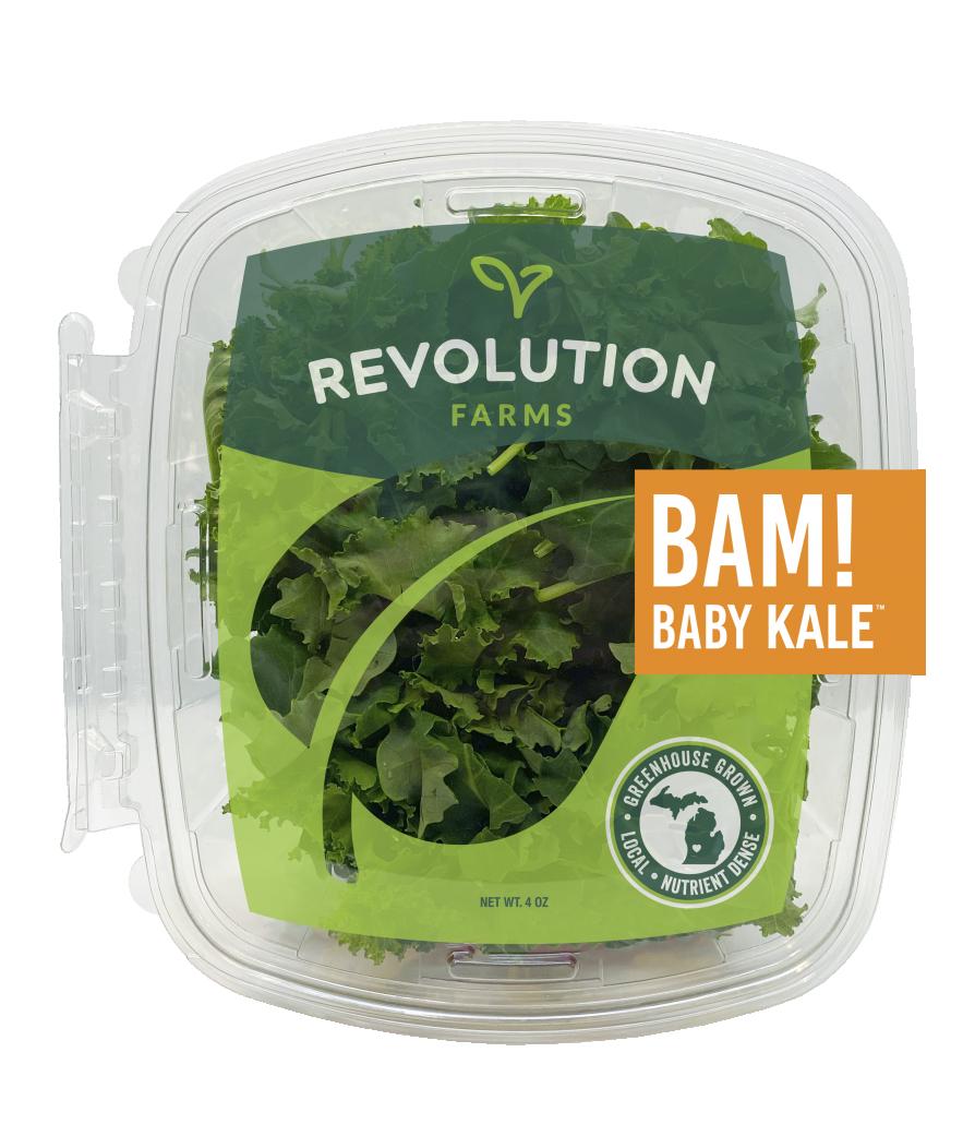 BAM! Baby Kale