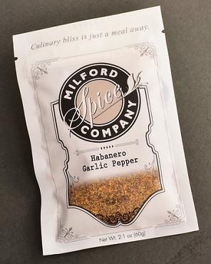 Habanero Garlic Pepper Seasoning