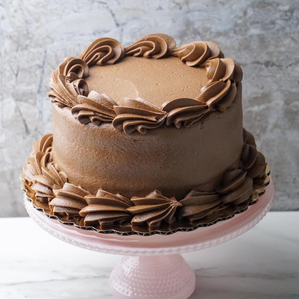 """Hunka Burnin' Love Chocolate Cake 6"""" (3-layer)"""