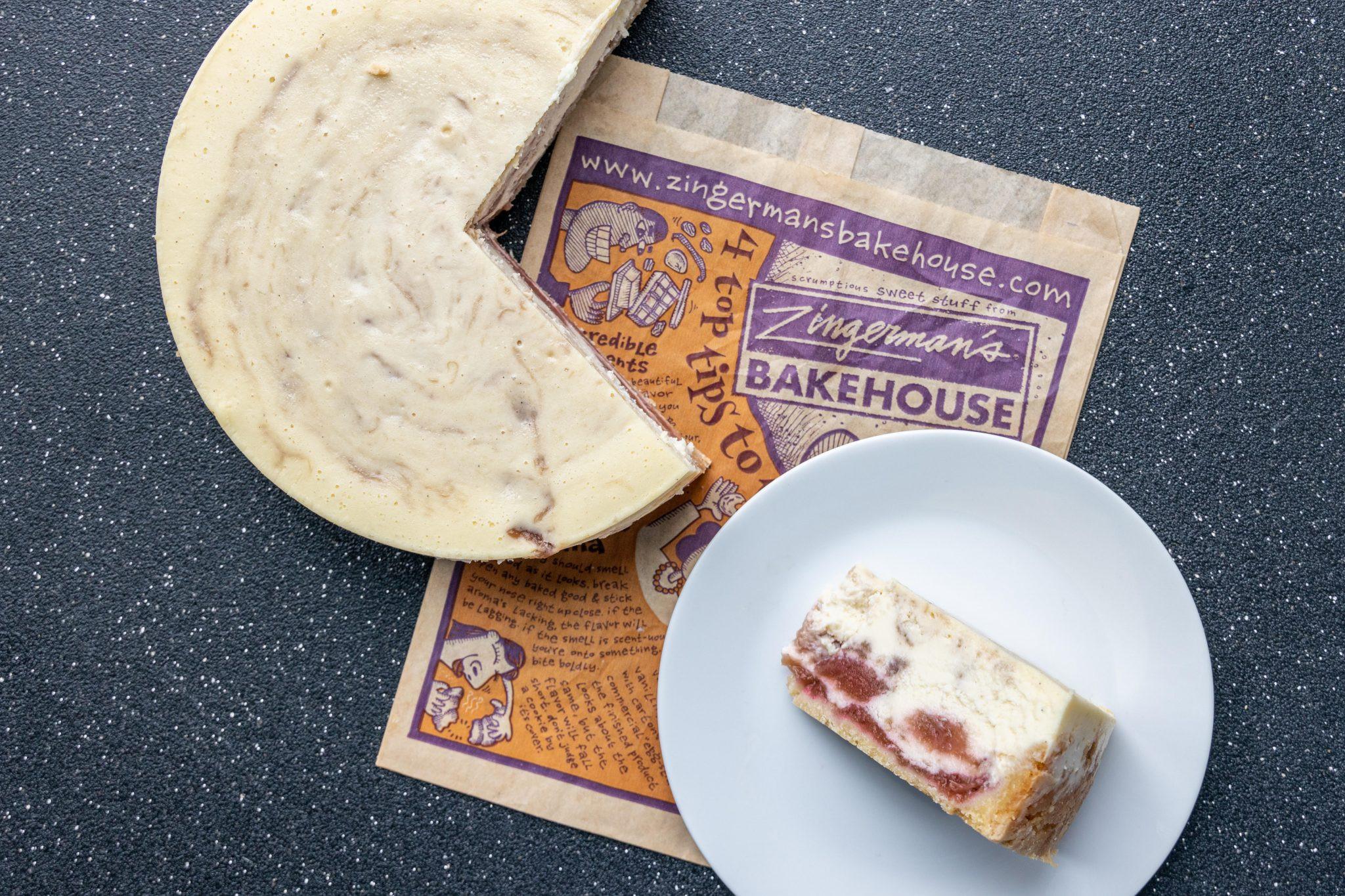 Val's Rhubarb Cheesecake