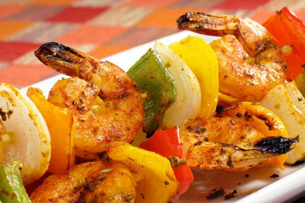 Seasoned Shrimp Kebab