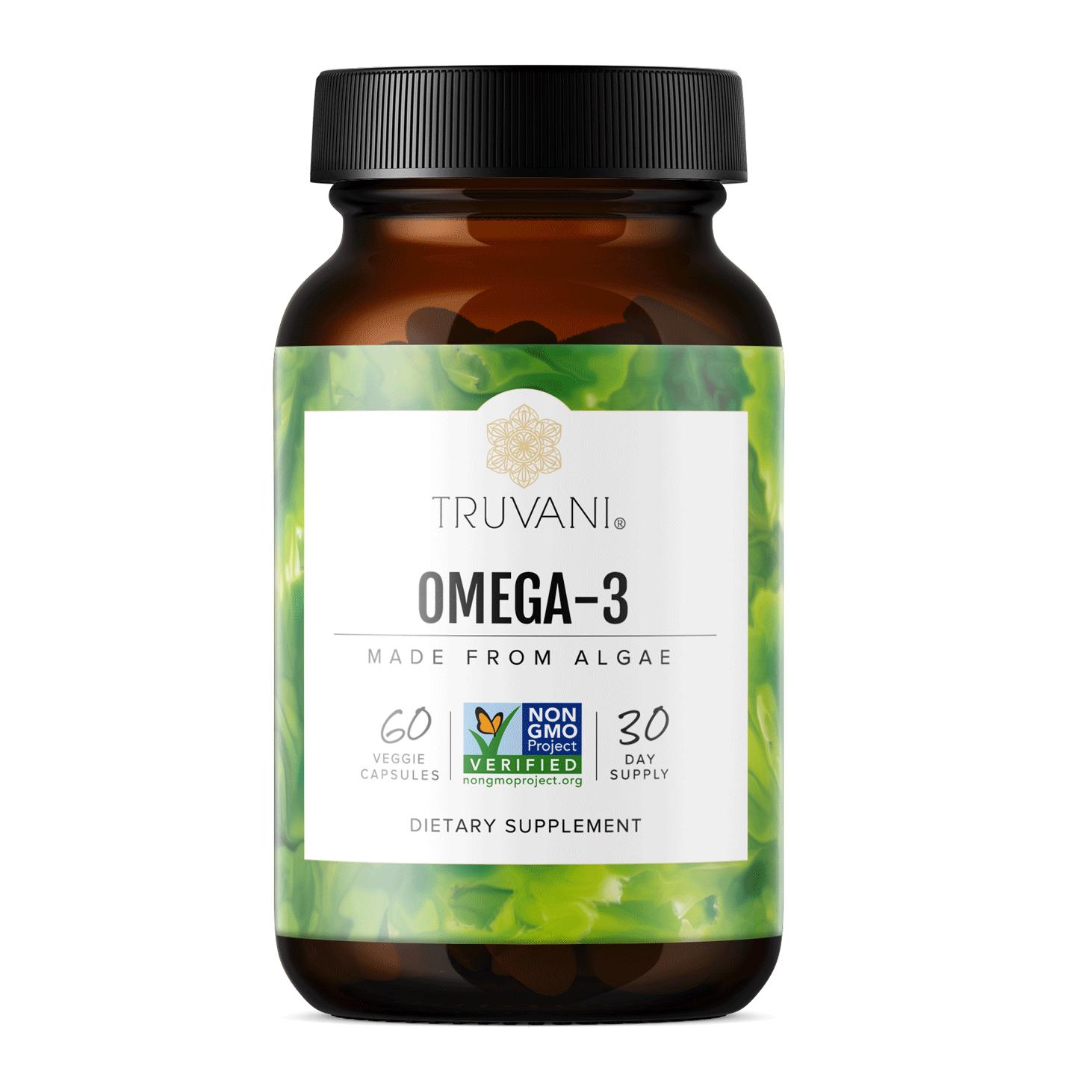 Omega-3 Capsules, Plant-based
