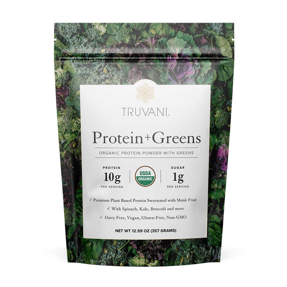 Organic Protein + Greens Powder, Plant-Based