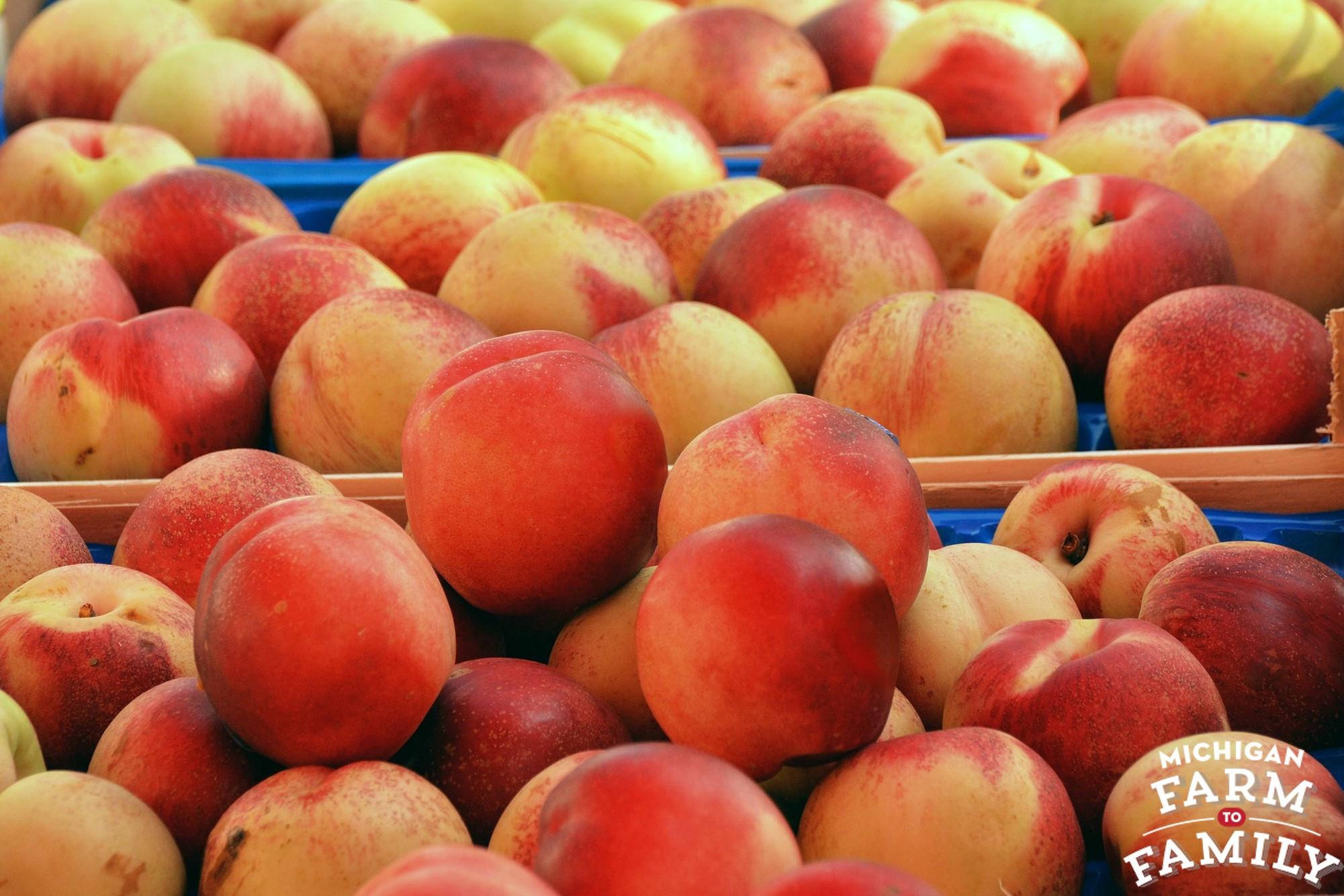 Michigan-Grown Peaches