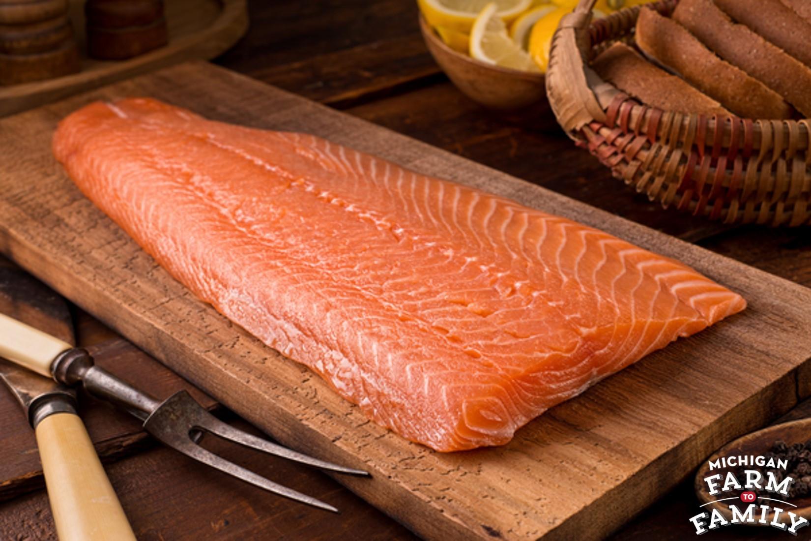 Cedar Plank Coho Salmon, Ready-to-Grill