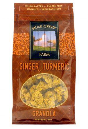Ginger Turmeric Granola