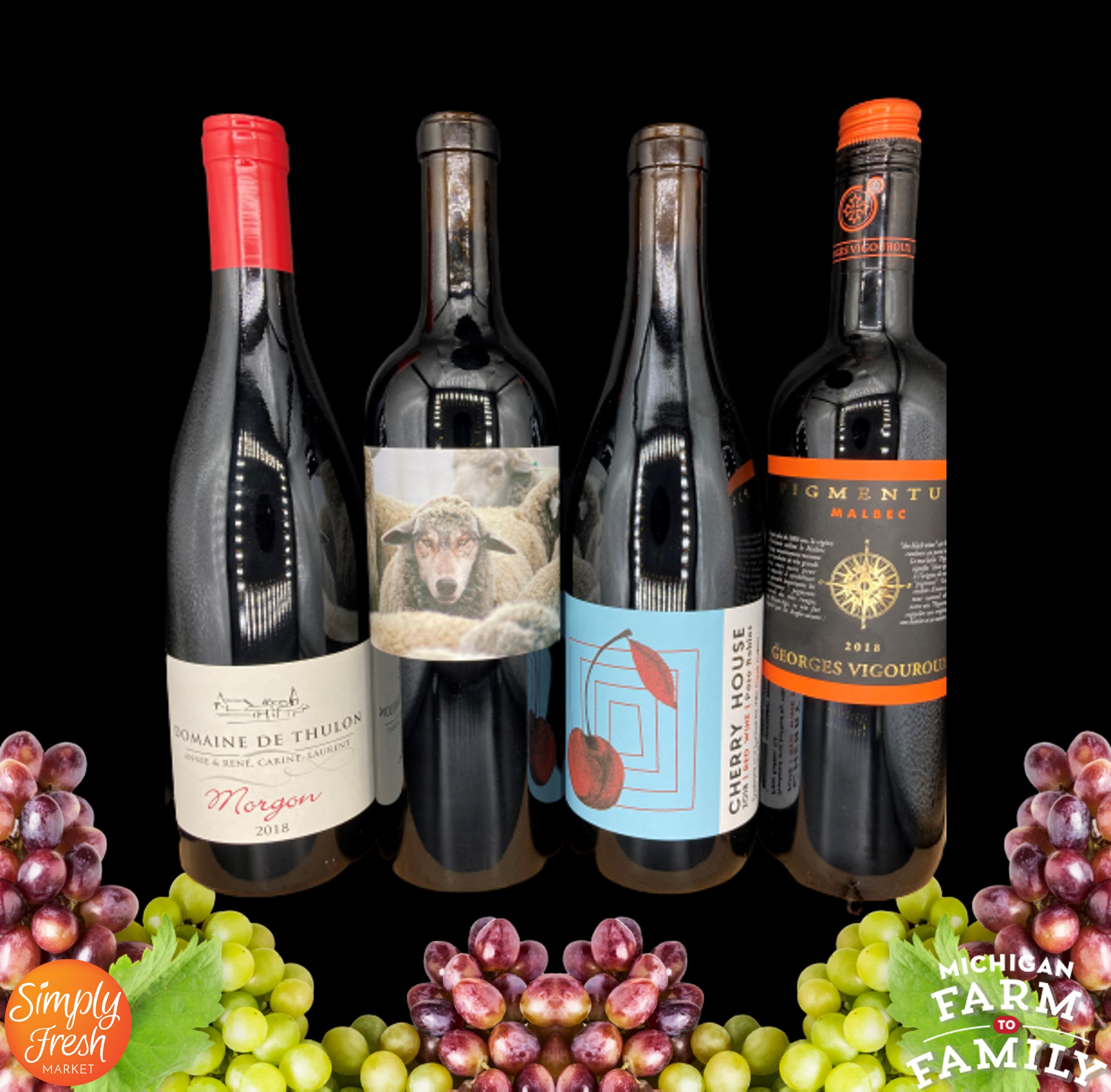Red Wine Bundle - September's Selections