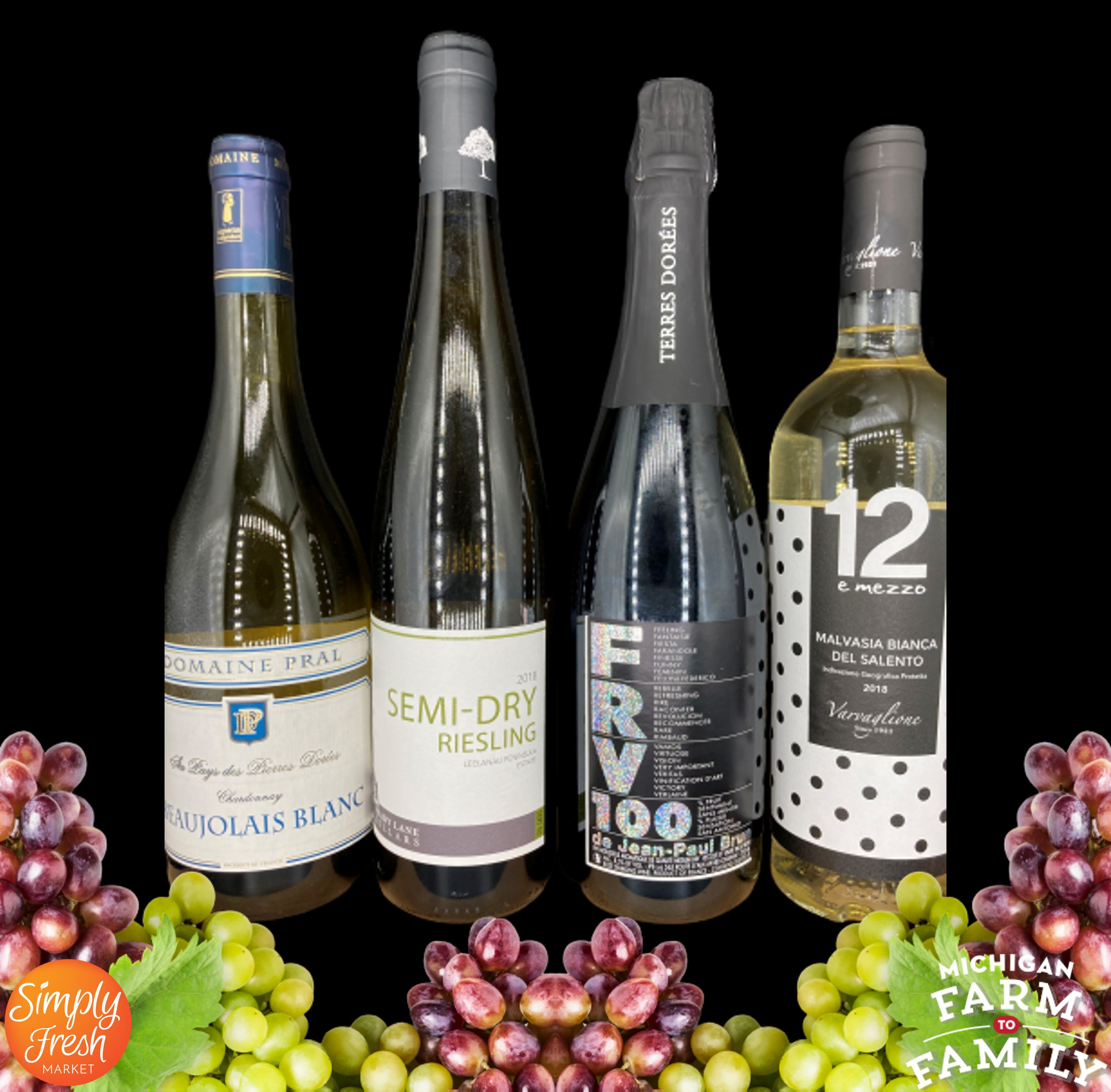 White Wine Bundle - September's Selections