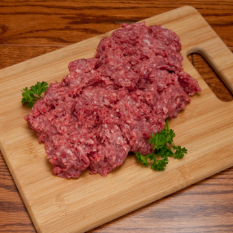 Zimba Organic Ground Beef (5lbs or more)