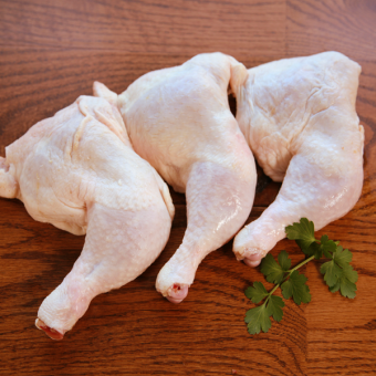 GCC Organics - Chicken Legs with Thighs (Dark Quarters)