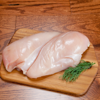 Miller Organic Chicken Breast, Boneless Skinless