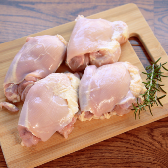 Miller Organic Chicken Thighs, Boneless, Skinless