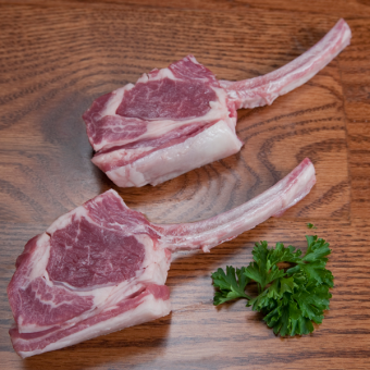 S&S Lamb French Cut Rib Chops