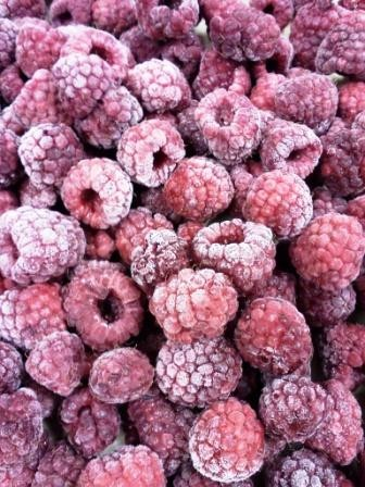 Locavorious Frozen Organic Raspberries
