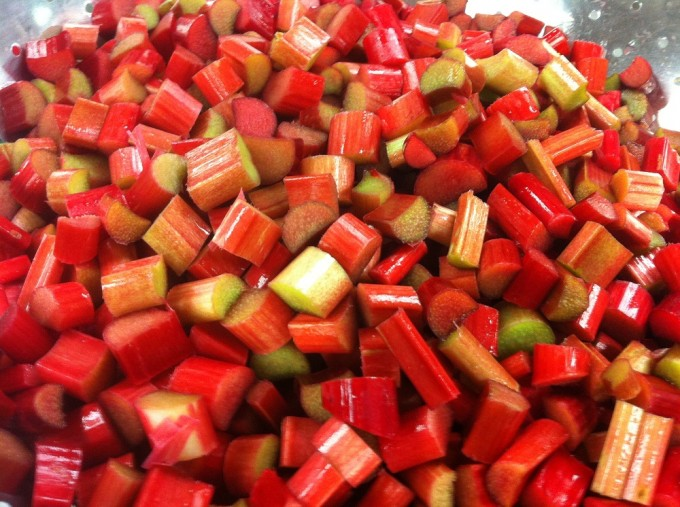 Locavorious Frozen Rhubarb