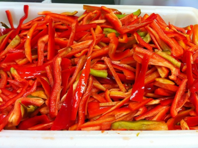 Locavorious Frozen Organic Peppers (Sweet)