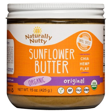 Naturally Nutty Organic Sunflower Butter 15 oz