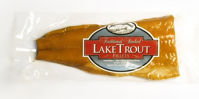 Mackinac Straits Smoked Lake Trout Single Fillet
